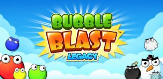 Bubble Blast Legacy available on Google Play